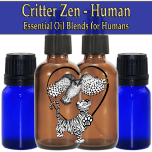 Critter Zen - Human, Wild Crafted Essential Oil Blends
